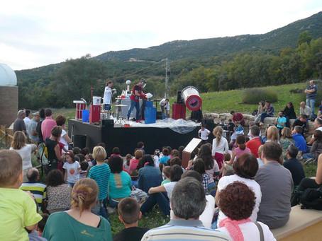 El 1r. Festival d'Astronomia omple el Montsec
