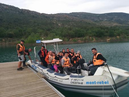 10 bloguers de turisme i viajes d'arreu del món visiten el Montsec