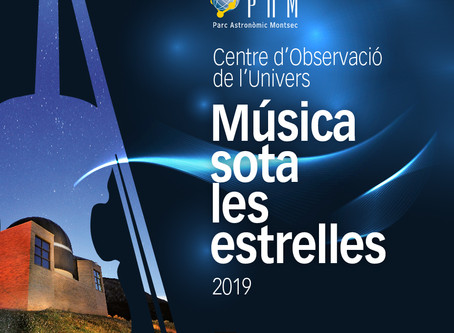 Programació Cicle de Música Sota les Estrelles 2019