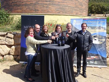Es presenta el Vi Montsec Astronòmic que promocionarà el Parc Astronòmic Montsec (PAM)