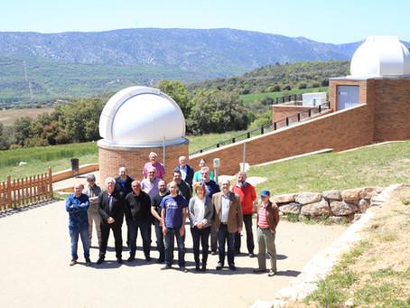 El Montsec acull aquesta setmana la campanya final de mesures de contaminació lumínica del projecte