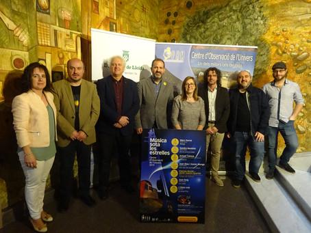 El 8 de juny comença la desena edició del Cicle de Música Sota les Estrelles, que es consolida ja a