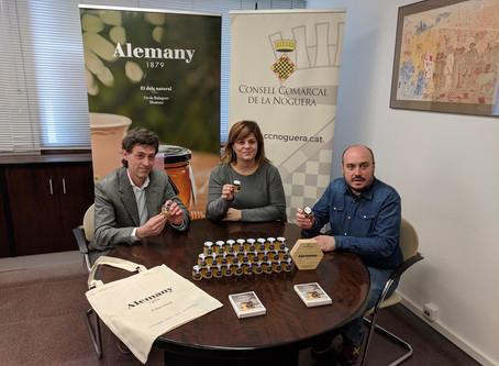 EL Parc Astronòmic Montsec donarà als escolars un petit pot de mel obsequi de l'empresa Mel i To
