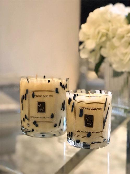 Dalmatian Candle