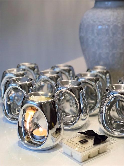 Silver Burner & Melt Gift Set