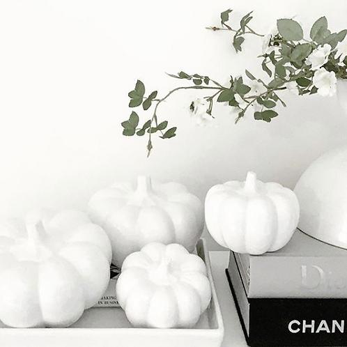 Ceramic Decorative Pumpkins - Medium