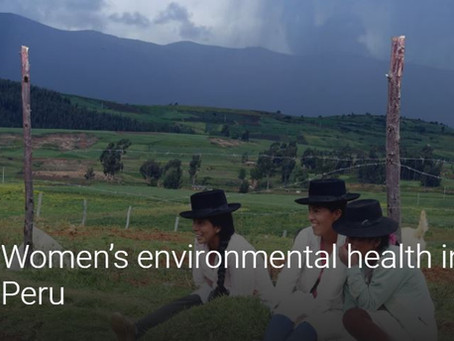 Women's environmental Health in Peru