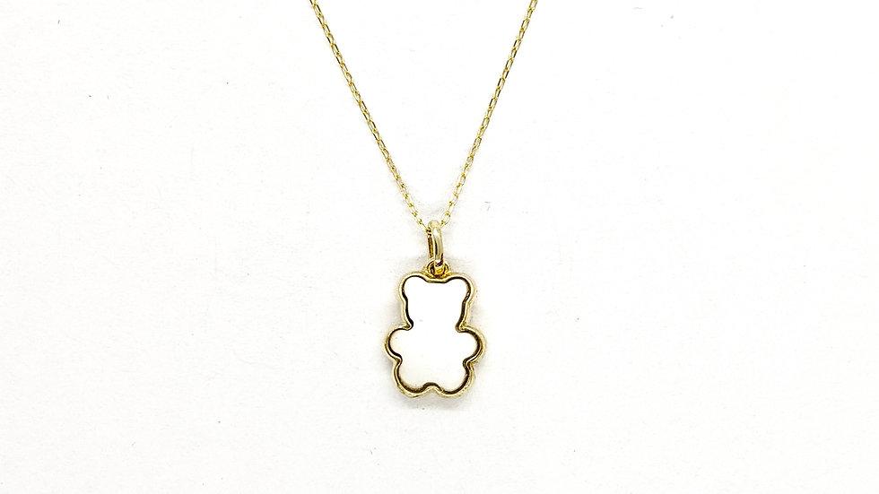 Wisiorek złoty Bear