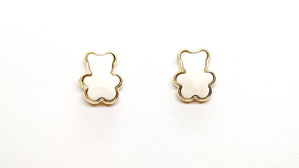 Kolczyki złote Bear