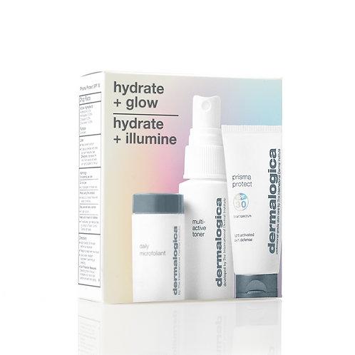 hydrate + glow kit