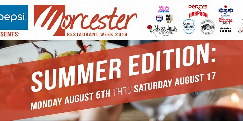 Worcester Restaurant Week!
