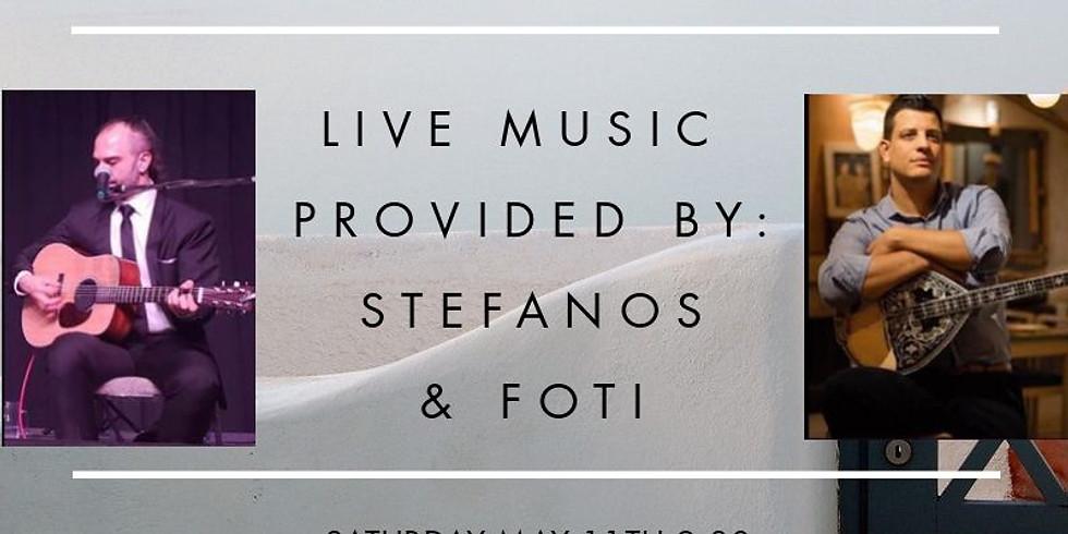 Greek Night - Stefanos & Foti Live at Meze Estiatorio