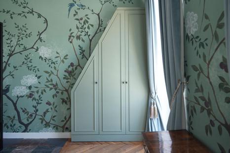 Project Paris 3 Beaumarchais Bedroom