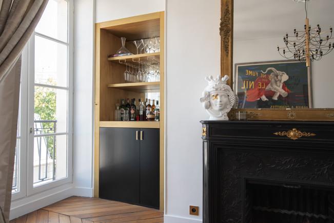 Project Paris 3 Beaumarchais Salon and Bar