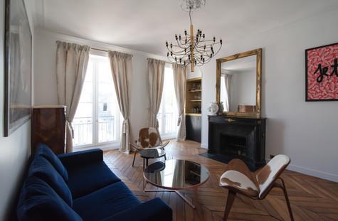Project Paris 3 Beaumarchais Salon Wide Shot