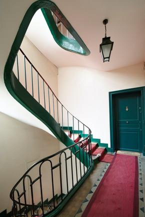 Project Paris 3 Beaumarchais Building Staircase