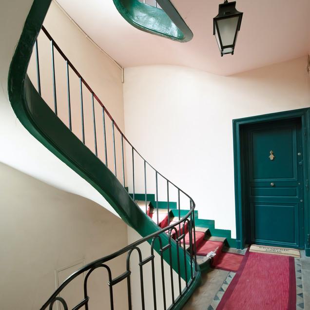 Project Paris 3 Beaumarchais Stairwell