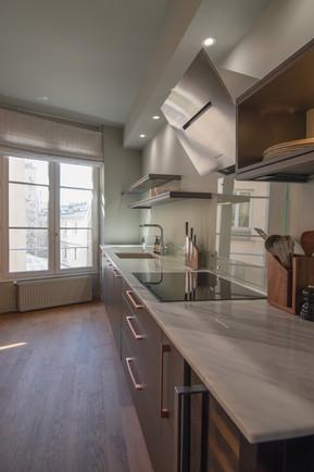 Project Paris 3 Beaumarchais Kitchen
