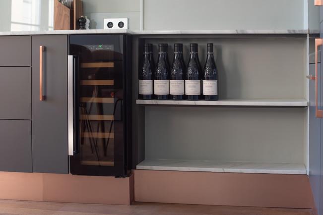Project Paris 3 Beaumarchais Wine Fridge