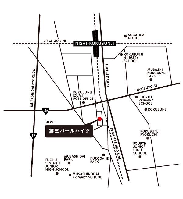 〒183-0042 東京都府中市武蔵台2-32-18