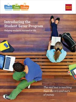 Student Saver Poster