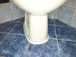 silikoniranje WC šolje