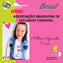 Milena Aparecida - 9 anos