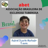 Andriel Duarte - 9 anos