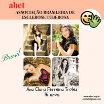 Ana Clara - 16 anos