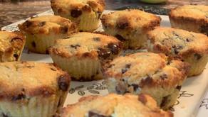 Keto Hybrid Chocolate Chip Cookie Muffins