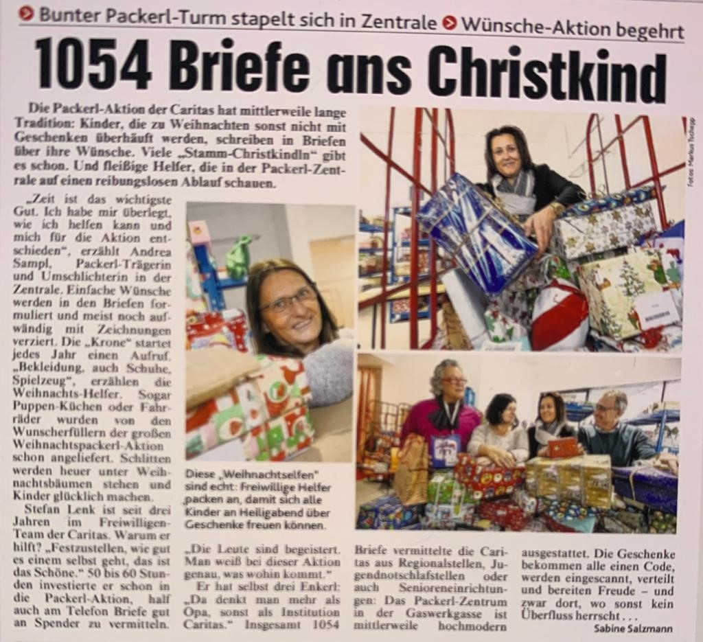 Briefe ans Christkind