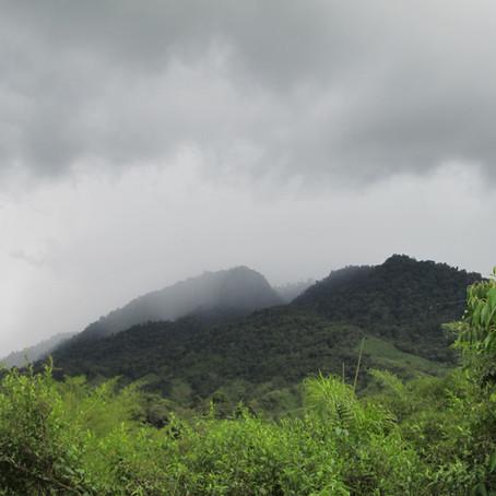 Rain Data Santa Lucía 2017 - 2021