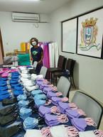 Entrega de mais de 10.000 máscaras laváveis confeccionadas de maneira voluntária à prefeitura de Bombinhas.jpeg