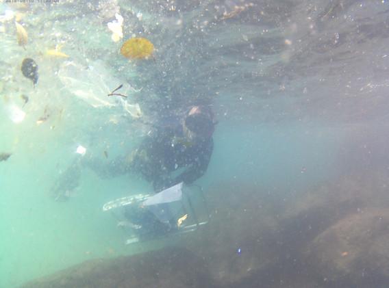Limpeza subaquática