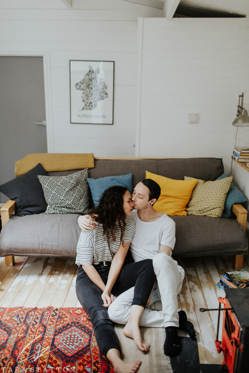 Tara Statton Photography engagement couple portraits devon