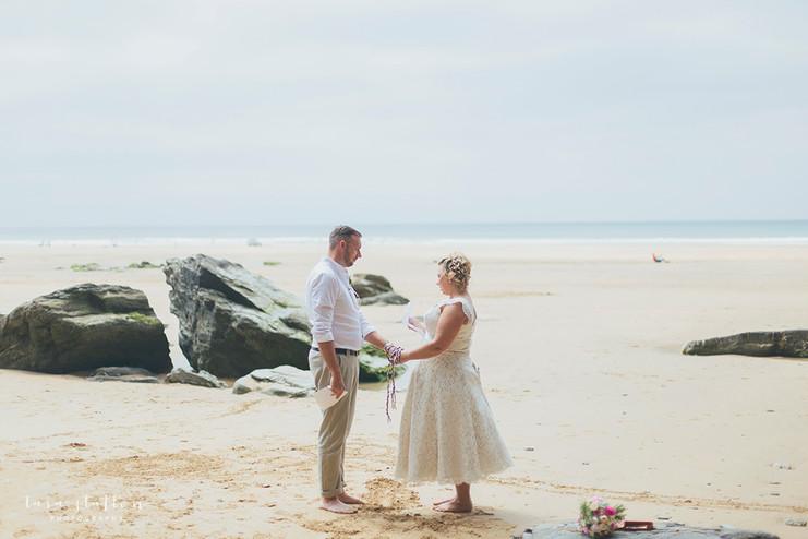 Naomi and Graham's Vow Renewal   Watergate Bay