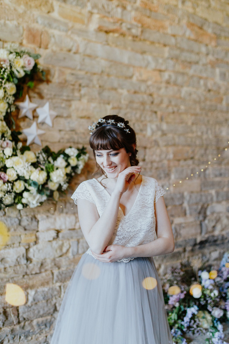 My Moon & Stars | Bridal Shoot Almonry Barn
