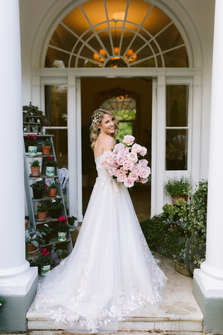 Flower Girl | Deer Park Country House Bridal Shoot