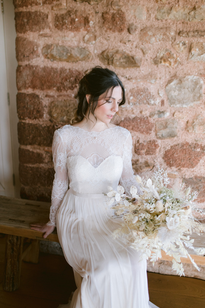 Tara Statton Photography Devon Brickhouse Vineyard Elopement