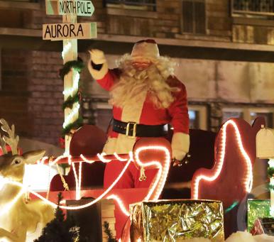 Santa Under the Stars!