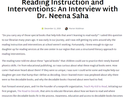 Using Decodable Books to Improve Reading Instruction