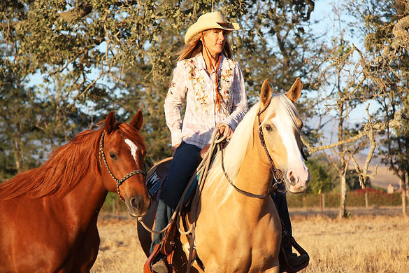 Nicolette Birnie, Natural Horsemanship Trainer and Clinician, California