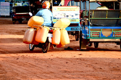 Driving Cambodia