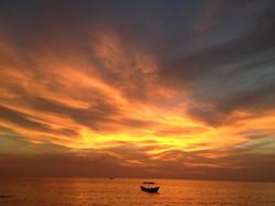 Sunset Cambodia