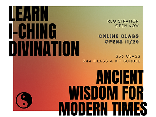 I-Ching Divination Class Pre-Launch