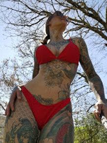 VIDEO // exib sexy lingerie bikini in nature - 14