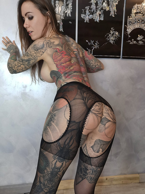 SET PHOTOS // sexy porte jarretelles 3