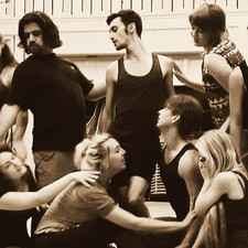 Rocky Horror Picture Show rehearsal