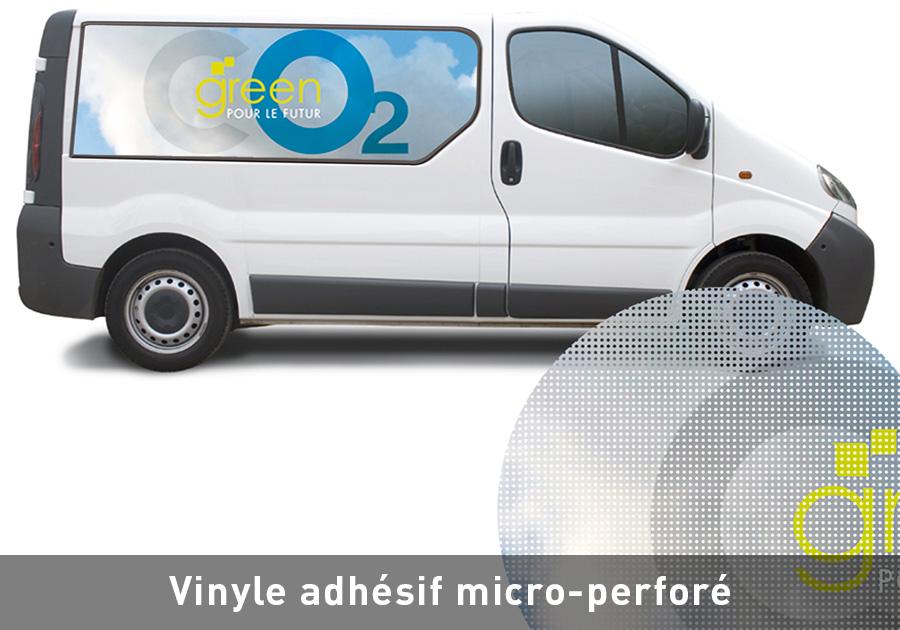 Vinyle-adhsif-micro-perforé-