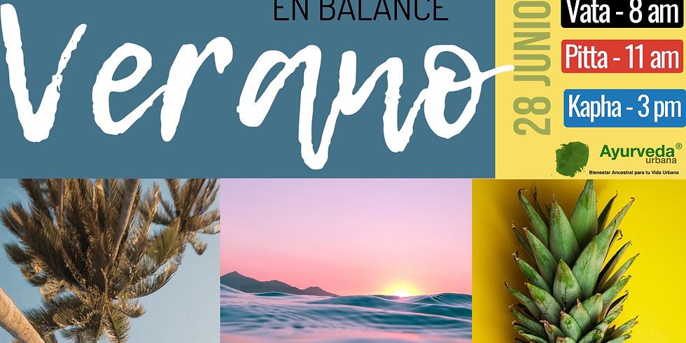 Taller de Verano en Balance KAPHA